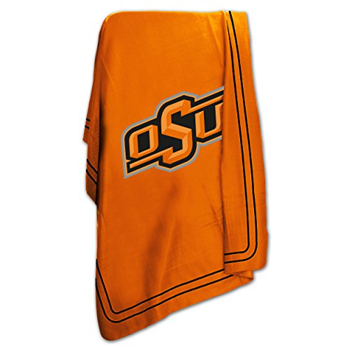 Logo Brands NCAA Oklahoma State Cowboys Classic Fleece Blanket