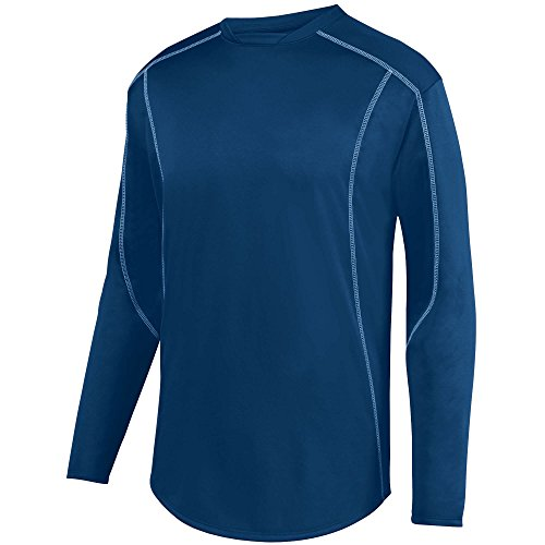 Augusta Sportswear Boys Edge Pullover L Navy/White - Edge Pullover