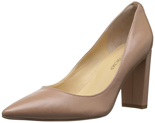 Ivanka Trump Women's Katie Dress Pump, Natural Leather, 7.5 M US