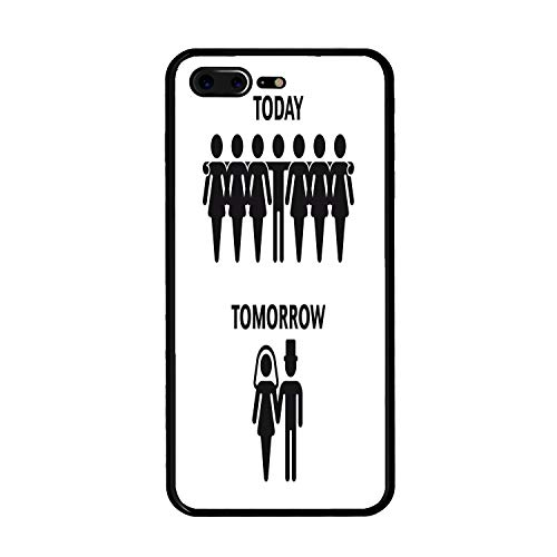 iPhone 7 Plus/iPhone 8 Plus Case, Today - Tomorrow TPU Prote
