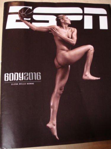 Espn Magazine  2016 Annual Body Issue  Elena Del Donne Cover July 2106