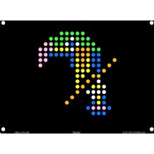 Lite Brite Refill: Zoo (12 sheets) for Create With Light / Magic Screen - Buy 2, get 1 FREE