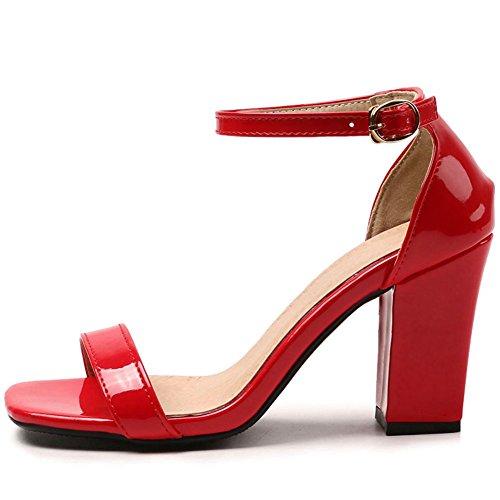 5 Donna Doratasia Sandali red Cm Pq5fwA