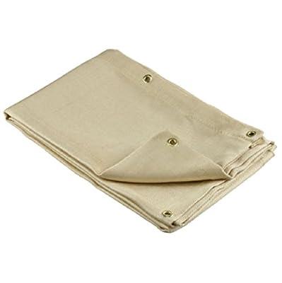 4' x 6' Welding Blanket Fire Flame Retardant Fiberglass Safety Shield Grommets