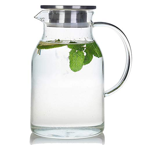 68 Ounces Glass Pitcher