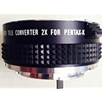 Bower 2X Manual Tele Converter Lens for Pentax K Mount SLR Camera.