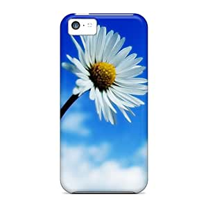 Qih10418SQPV Flower Awesome High Quality Iphone 5c Cases Skin