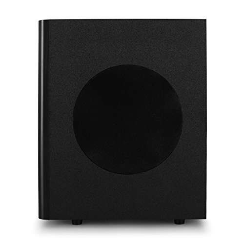 auna Areal Active 620 • 5.1 Surround Sound System • Home Cinema System • Bass Reflex • 5 Satellite Speakers • Active 6.5'' subwoofer • Bluetooth • USB Port • SD • AUX • Black by auna (Image #4)