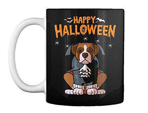 (Funny boxer halloween costume dog bone d Mug - Teespring)
