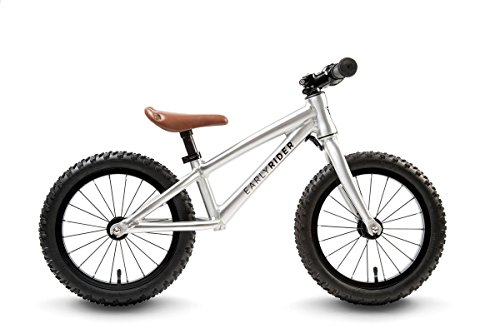 Early Rider Trail Runner XL Fatbike Kids' Balance Bike - 2016 Silver, One Size