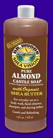 Dr. Woods Shea Vision, Pure Almond Castile Soap withShea But