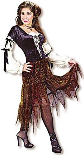 Horror-Shop Disfraz de Gitana Halloween S/M 36-38: Amazon.es ...