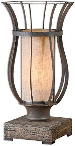 BLACK FOREST DECOR Canyon Lantern Table Lamp