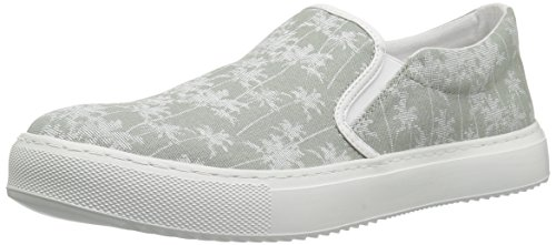 Grey A Tropical Canvas Armani Tropical Slip Men Exchange Printed X Sneaker CaCqrvn