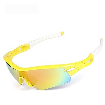 FRFG Gafas de Sol polarizadas Gafas de Bicicleta Deportes al Aire Libre Gafas de Montar se