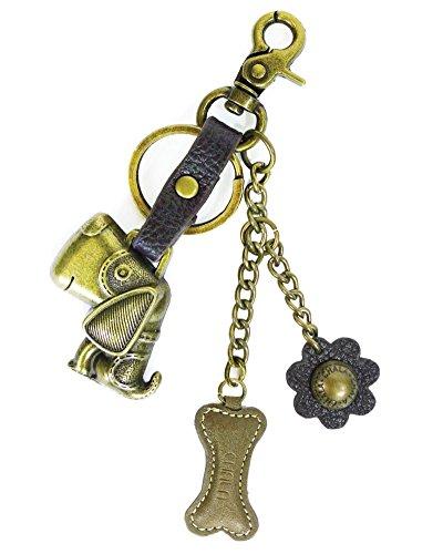 (Chala Purse Charm, Key Fob, keychain Decorative Accessories, Dog, Small)