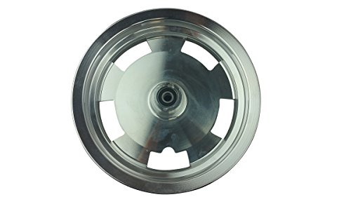 10 Inch Chrome Front Rim 49 50cc TaoTao Peace New Gy6 Scooters Mopeds MT2.50xJ10 ()