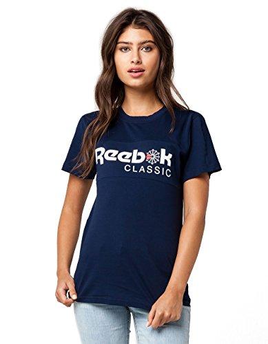 Reebok Women's Classic Tee, Navy, X-Large Reebok Classic T-shirt