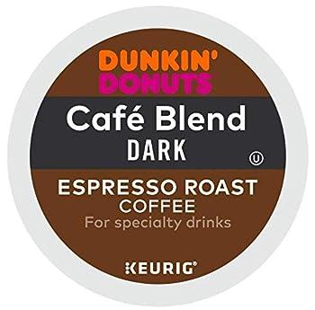 Dunkin' Donuts Cafe Blend Dark Espresso Roast Espresso K Cup