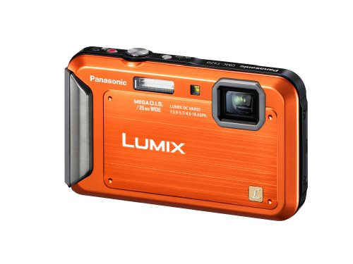 Panasonic Lumix TS20 16.1 MP TOUGH Waterproof Digital Camera with 4x Optical Zoom (Orange) (OLD MODEL) by Panasonic (Image #2)