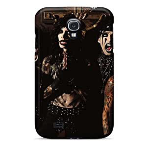 Protective Hard Cell-phone Cases For Samsung Galaxy S4 With Allow Personal Design HD Black Veil Brides Band BVB Skin AaronBlanchette