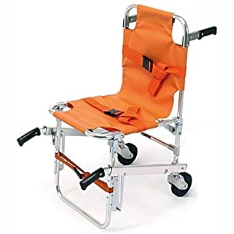 LINE2design EMS Stair Chair   Ambulance Firefighter Evacuation Medical Lift  Stair Chair With Quick Release Buckles