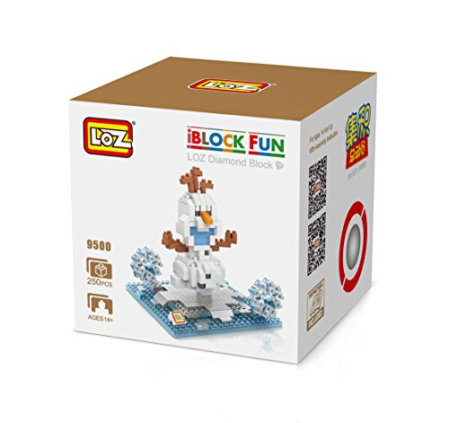 - LOZ Diamond Block Disney Character Series Olaf 9500