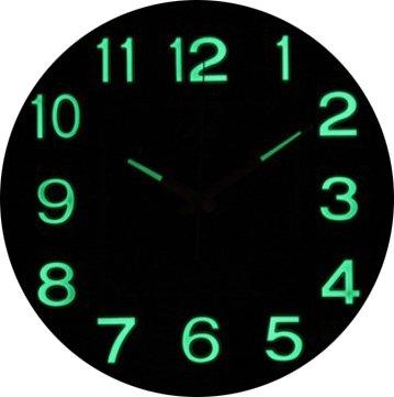 orologio fluorescente