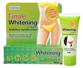 Finale Whitening Cream 30g. Armpit/inner thigh/elbow/knee. Specially formulated from high quality natural herbal extract ()