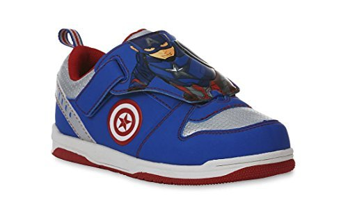 CAPTAIN AMERICA CIVIL WAR MARVEL Sneakers Shoes Toddler's & Boy's Sizes New with Box (11 M US Little Kid) -
