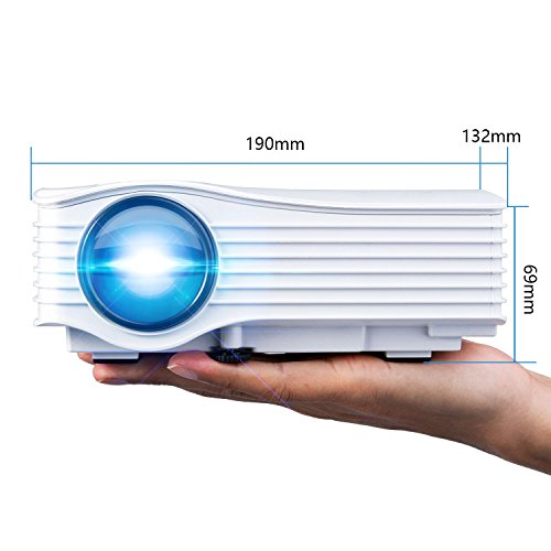 Deeplee dp36 led lcd mini projector specs comparison for Small lcd projector reviews
