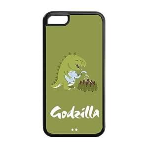 Custom Your Own Unique Godzilla iPhone 5C Cover Snap on Godzilla iPhone 5C Case