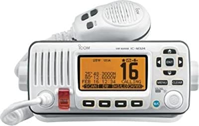 ICOM IC-M324 02 Fixed Mount VHF Radio - White from ICOM
