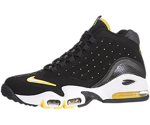 Nike Air Griffey Max II Mens Cross Training Shoes Black/White-Anthracite-True Yellow size 11 442171-010-11