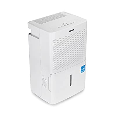 Tosot Energy Star Dehumidifier - for Basements, Large Rooms, and Whole House - Quiet, Portable, and Efficient - Prevents Mold and Mildew
