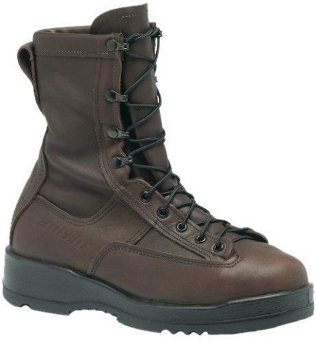 (Belleville 330ST Wet Weather Steel Toe Flight Boot Chocolate Brown, Size 12)