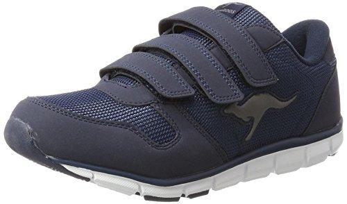 Mens Kangaroo Sneakers - KangaROOS K-bluerun 701 B, Unisex Adults' Low-Top Sneakers, Blue - Blau (Dk Navy/Mid Grey 423), 6.5 UK (40 EU)