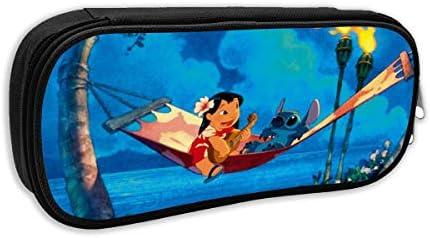 Lilo Stitch - Estuche de almacenamiento para lápices de viaje, ideal para la escuela, viajes y excursiones: Amazon.es: Oficina y papelería
