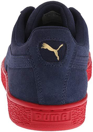 Puma Red Peacoat Team Pour Hommes Daim Gold Chaussures Classiques Puma en Ribbon 4aOxCPqn0