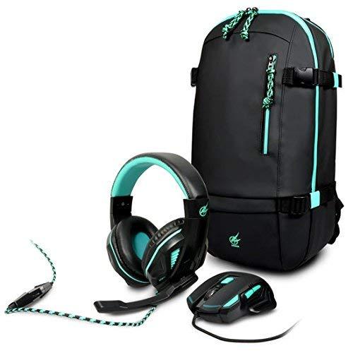 Port arokh - 2個のマウス+ヘッドフォン+ゲーム用バックパック [並行輸入品]   B07LDSN5VC