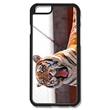 Amazon.com: Tiger Yawning Rock Hard Hot Case For Iphone 4/4S ...