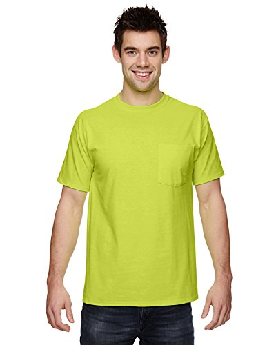 Fruit Loom Cotton T Shirt Pocket