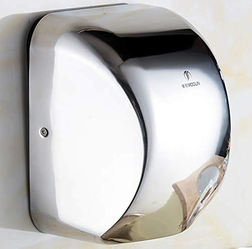 Modundry Automatic Hand Dryer Commercial 1200W High Speed 95m/s 304Stainless Steel for Bathroom Home by Modundry