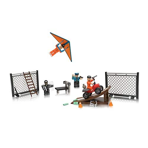 Roblox Jailbreak Great Escape Large Playset - roblox german general hat decal roblox
