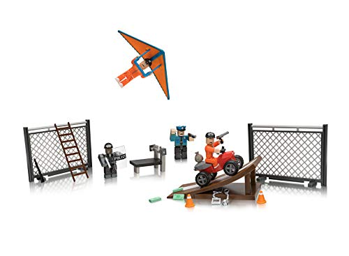Roblox Action Collection – Jailbreak: Great Escape Playset [Includes Exclusive Virtual Item]