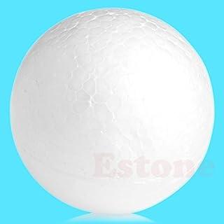 Qiuxiaoaa Cane Giocattolo Palla Pet Formazione Giocattolo Palla Palla modellazione Fai da Te polistirene polistirolo espanso Schiuma Materiale Creativo Bianco 6 cm
