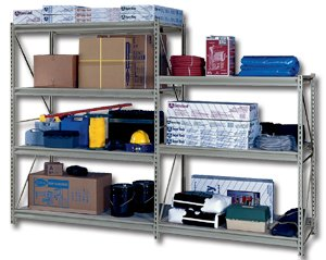 EDSAL MANUFACTURING Heavy Duty Z Beam Storage Rack, HRLPB2460, 24x60, 25