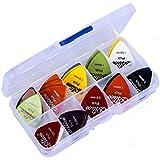 50PCS/Set Guitar Picks 1 Box Case Alice Acoustic Electric Guitar Accessories