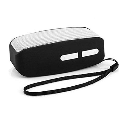 Bluetooth Speaker, Mini Wireless Bluetooth USB Dual Speakers Hands-Free Calling MP3 Player Audio - Grey