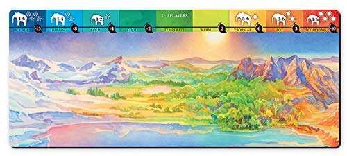 North Star Games Evolution: Climate Playmat | Every Game Becomes a Different Adventure!